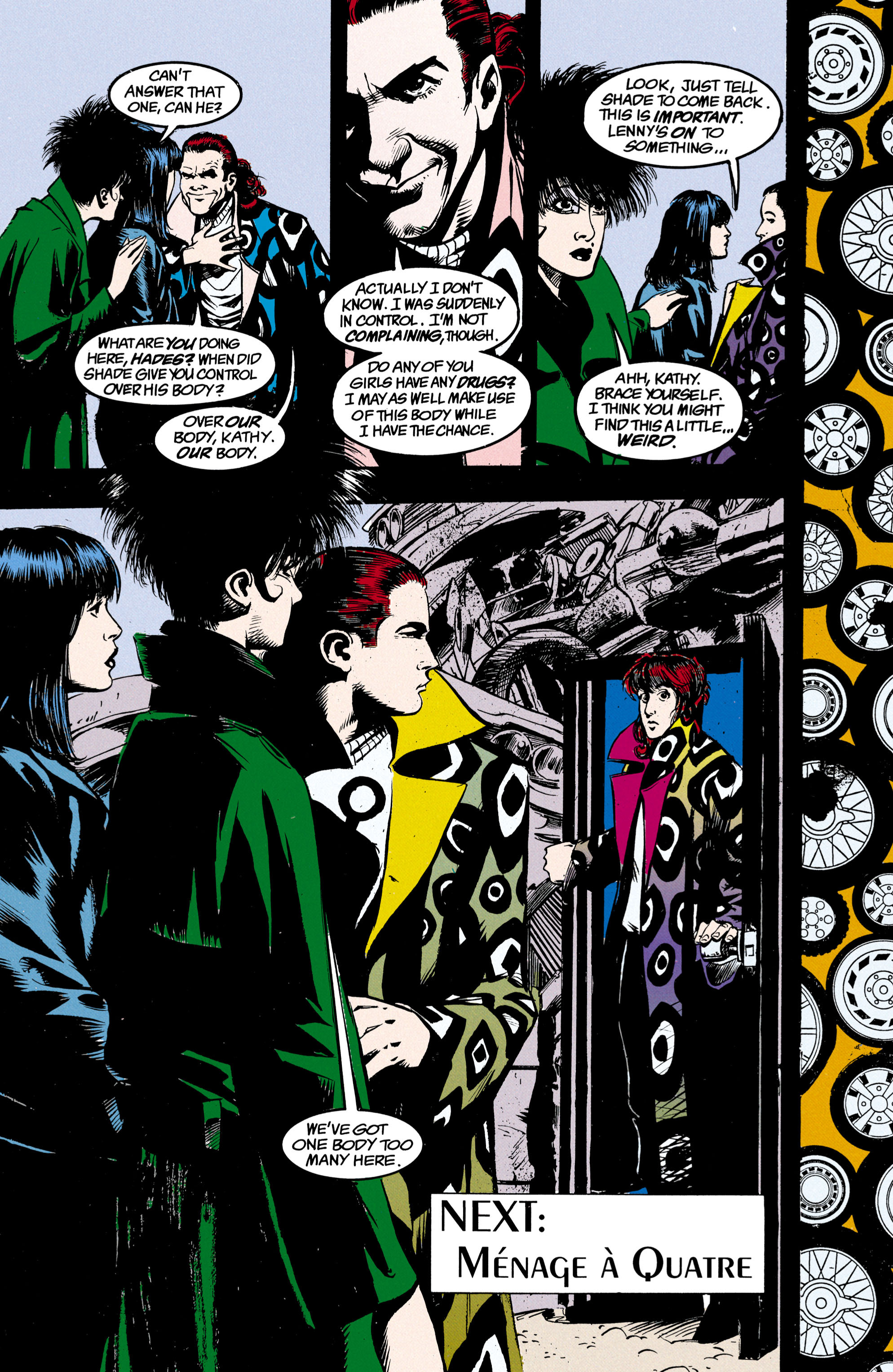 Read online Shade, the Changing Man comic -  Issue #23 - 25