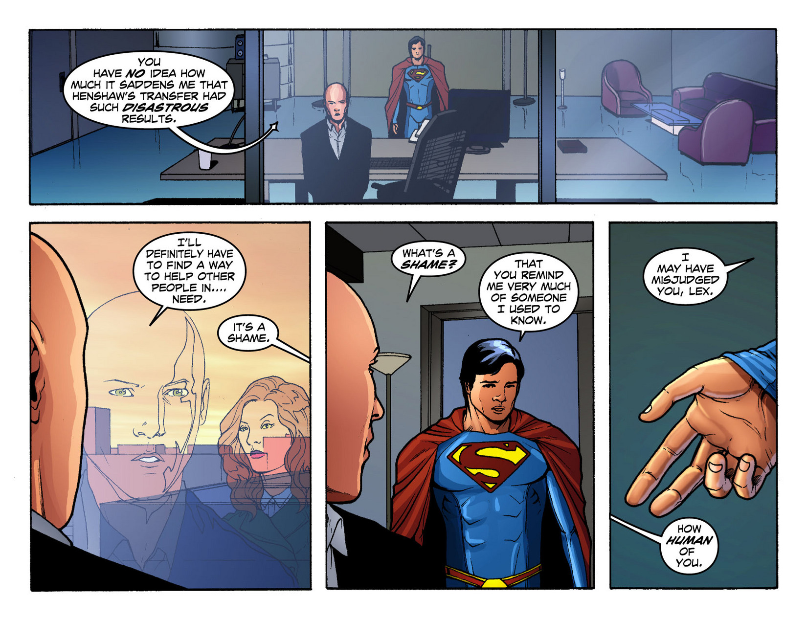 Read online Smallville: Season 11 comic -  Issue #12 - 5