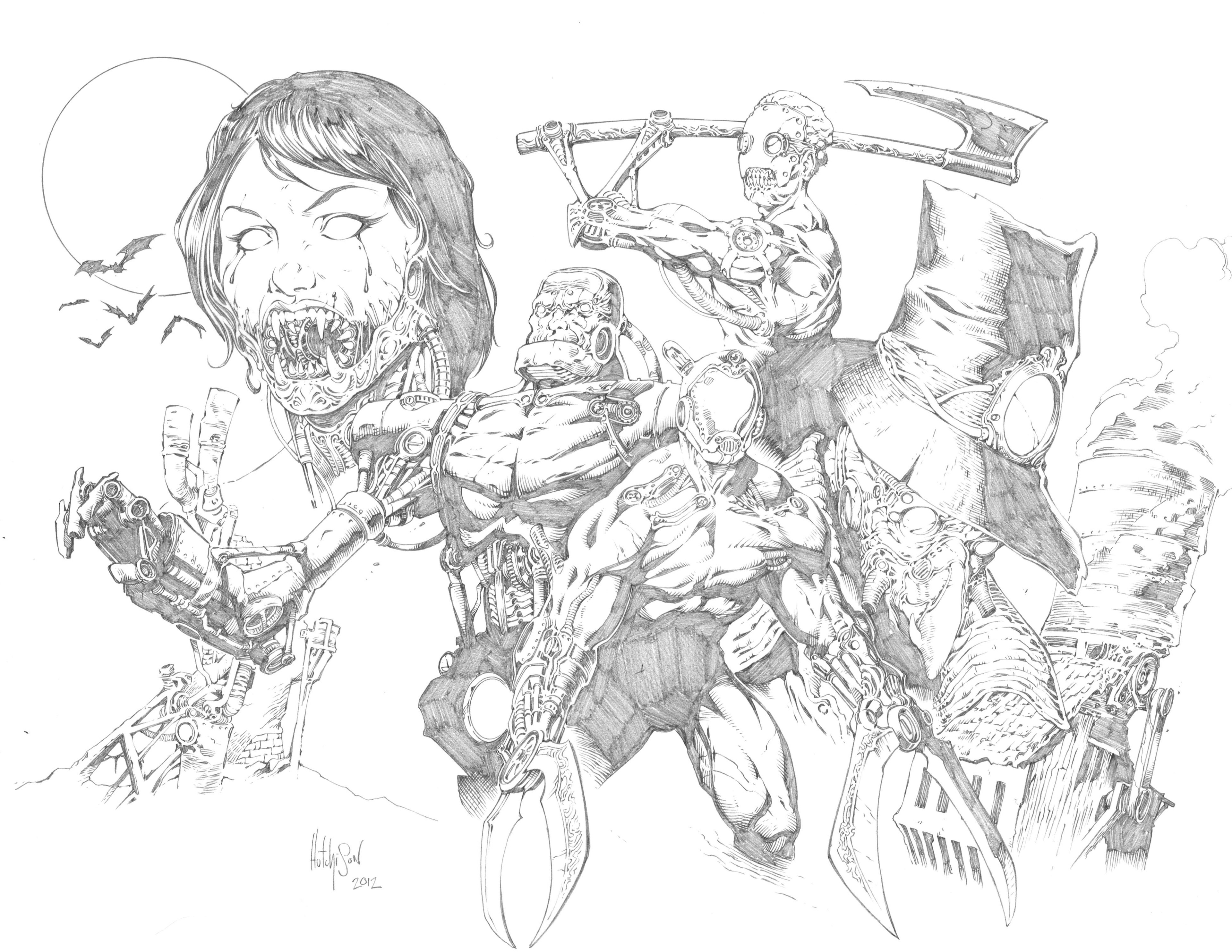 Read online Steampunk Halloween 2012 comic -  Issue # Full - 18