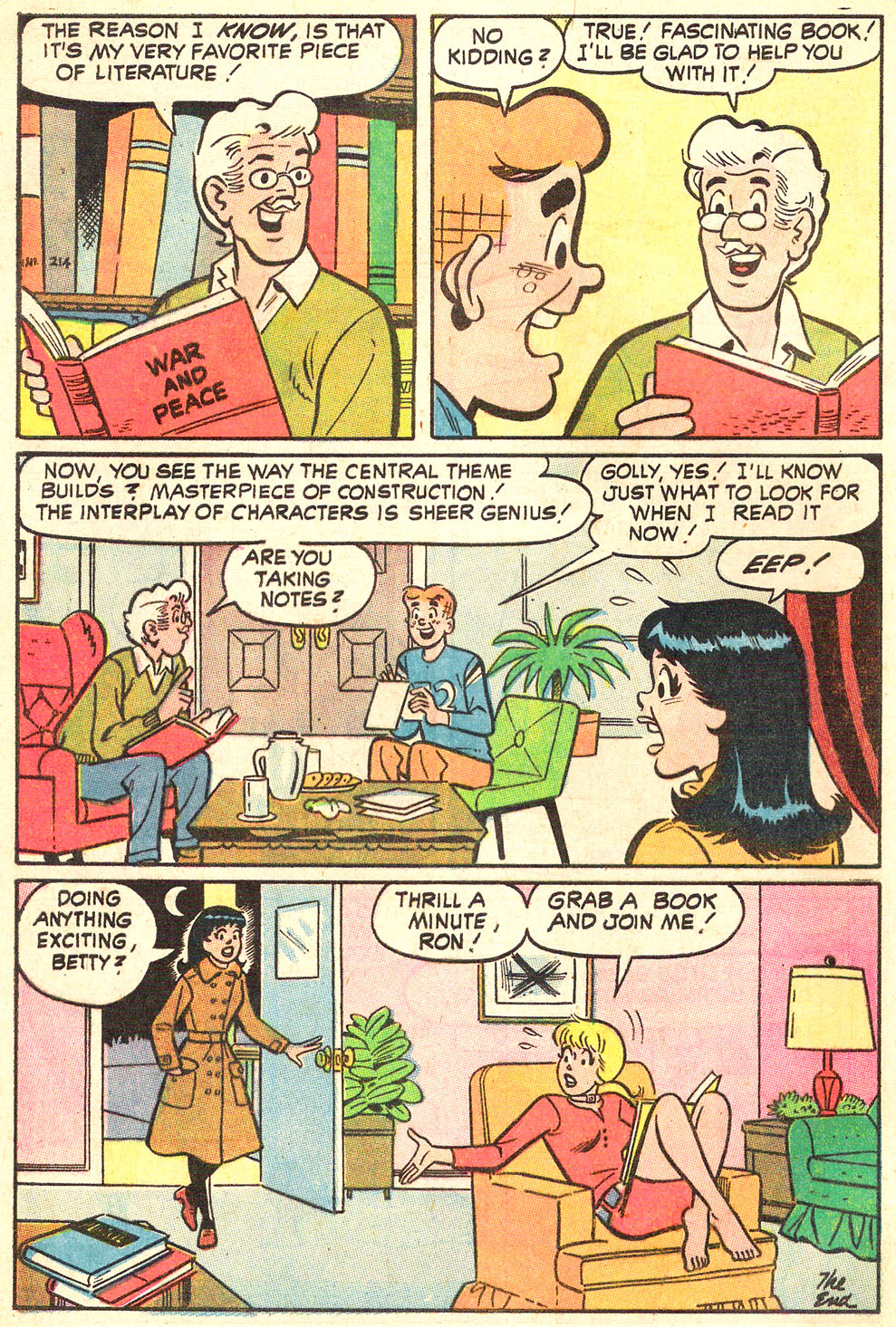 Read online Archie's Girls Betty and Veronica comic -  Issue #186 - 8