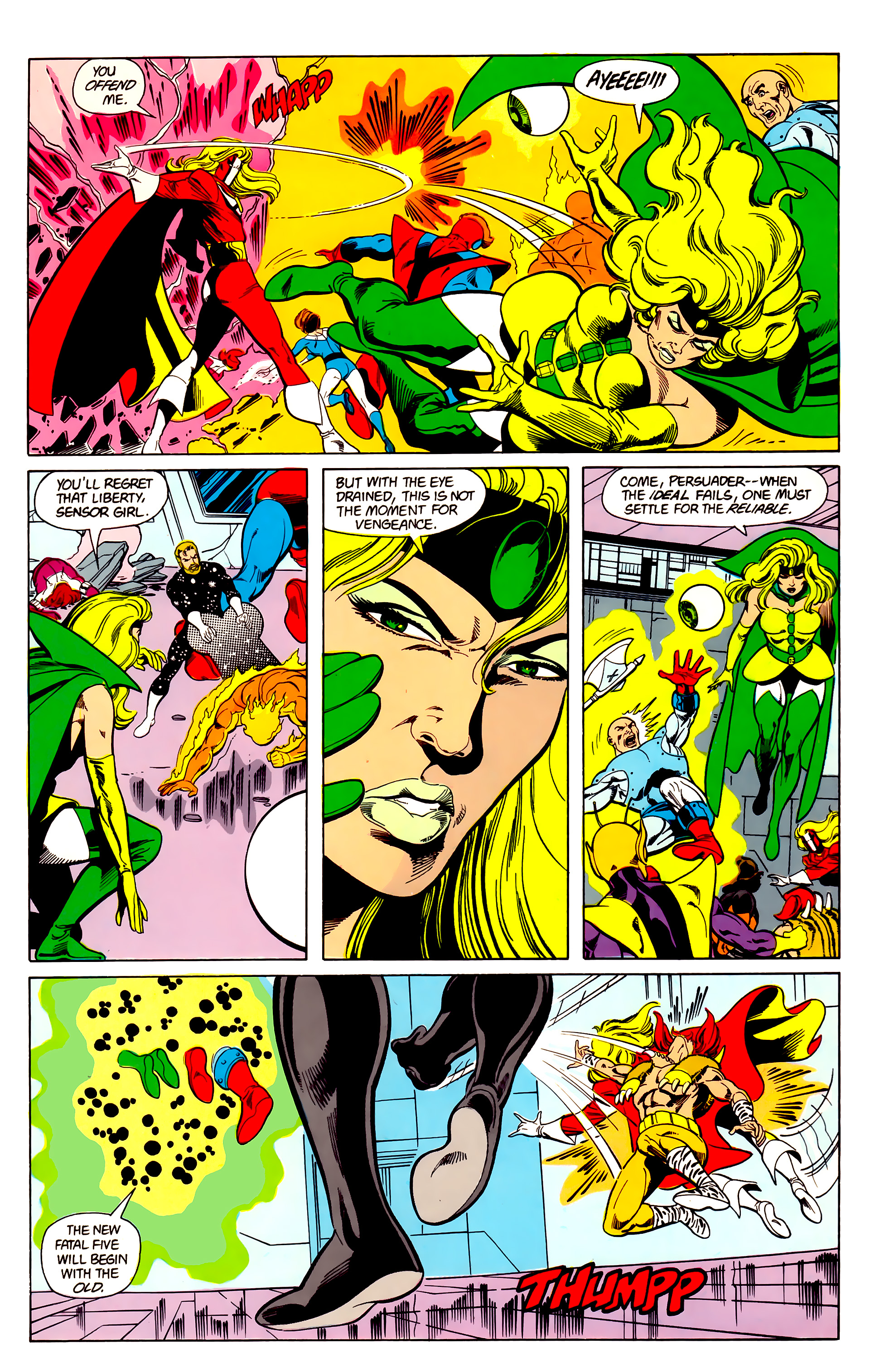Legion of Super-Heroes (1984) 21 Page 19