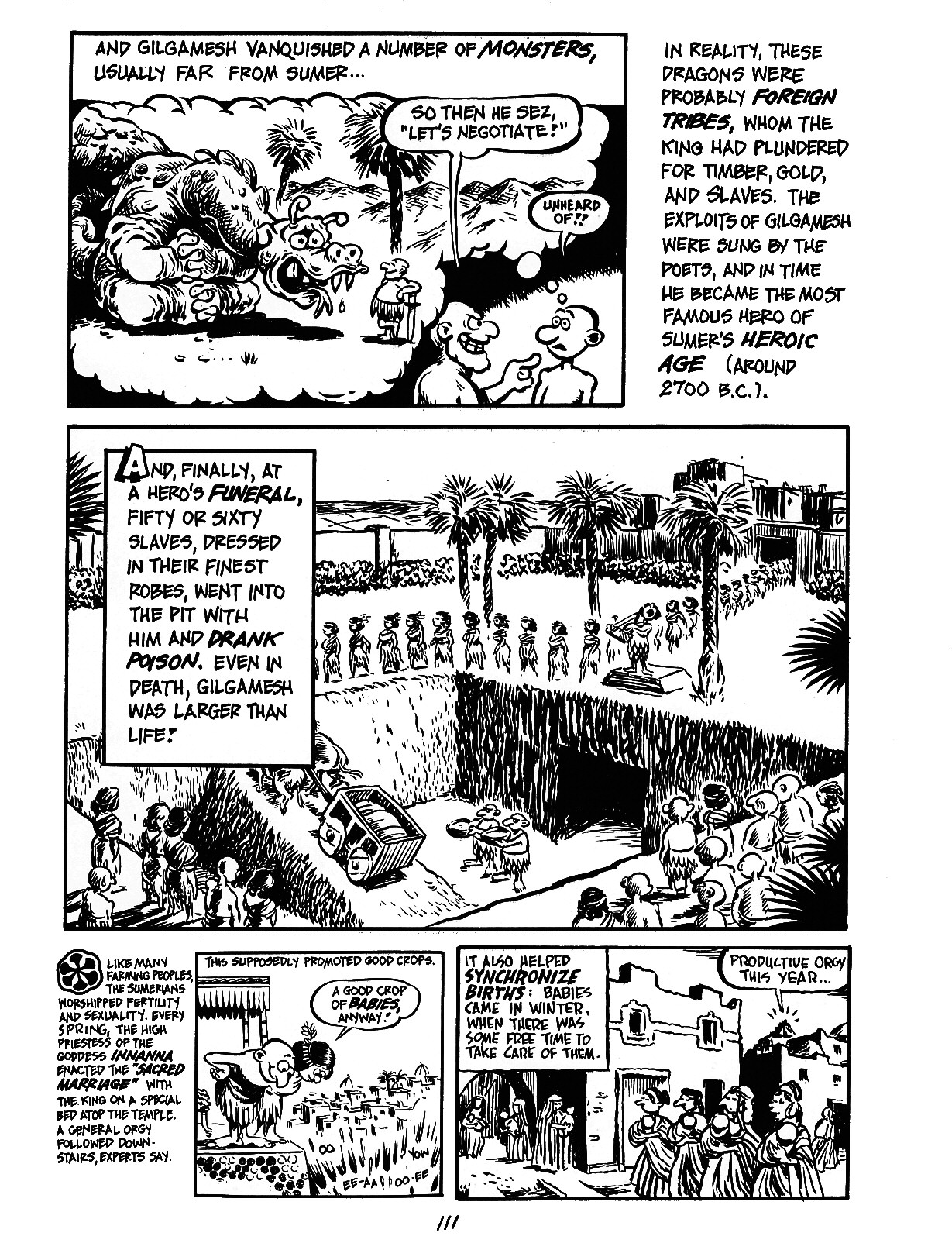 Read online The Cartoon History of the Universe comic -  Issue #3 - 11