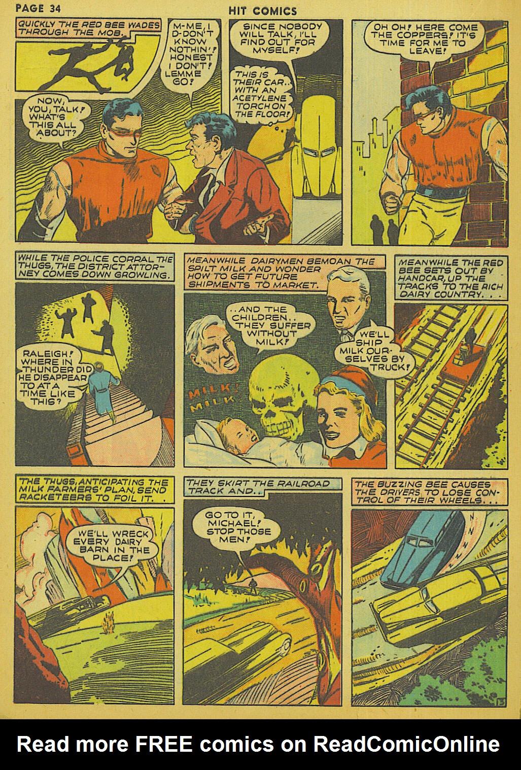 Read online Hit Comics comic -  Issue #13 - 36