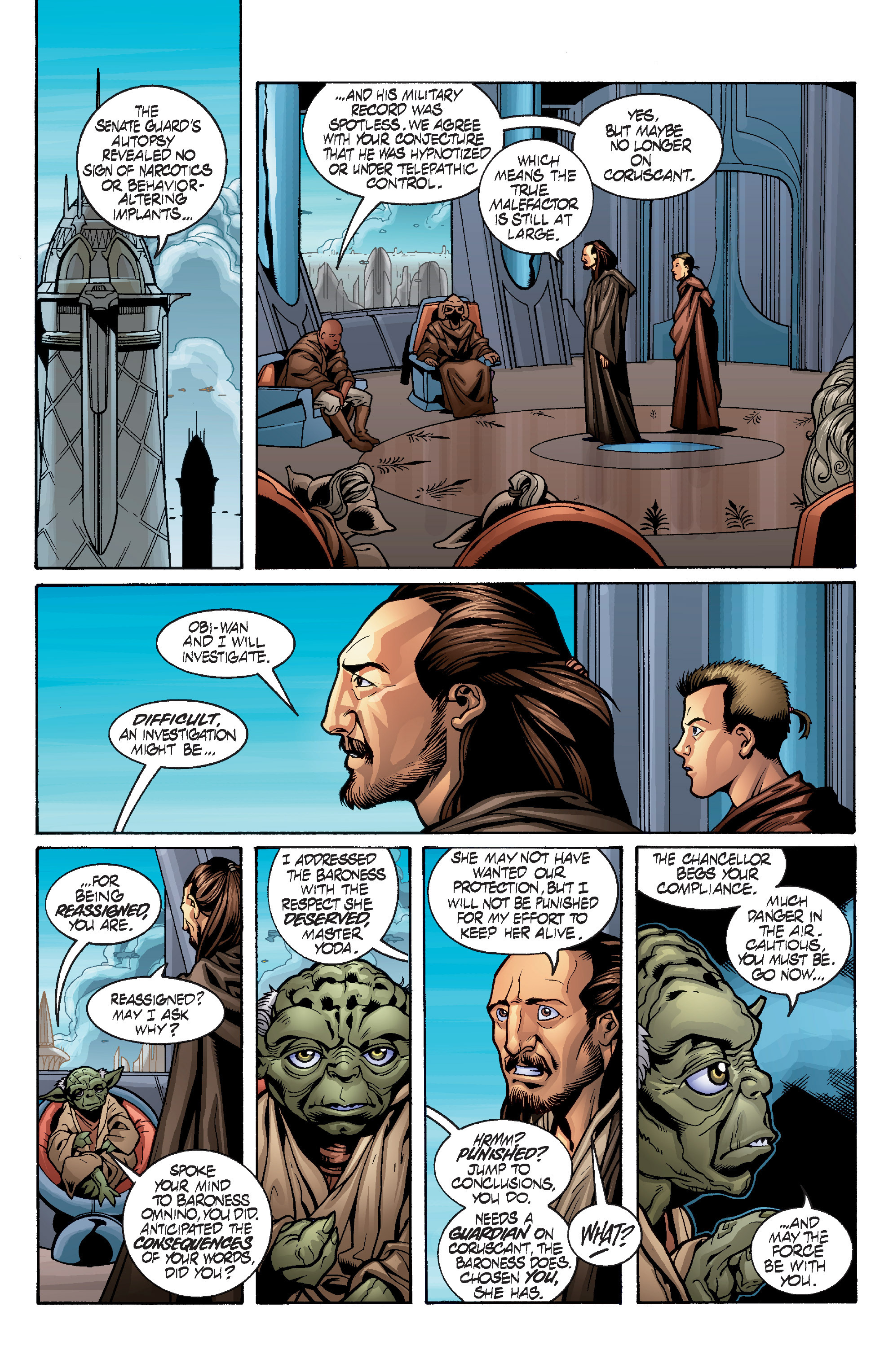 Read online Star Wars: Qui-Gon & Obi-Wan - Last Stand on Ord Mantell comic -  Issue #1 - 8