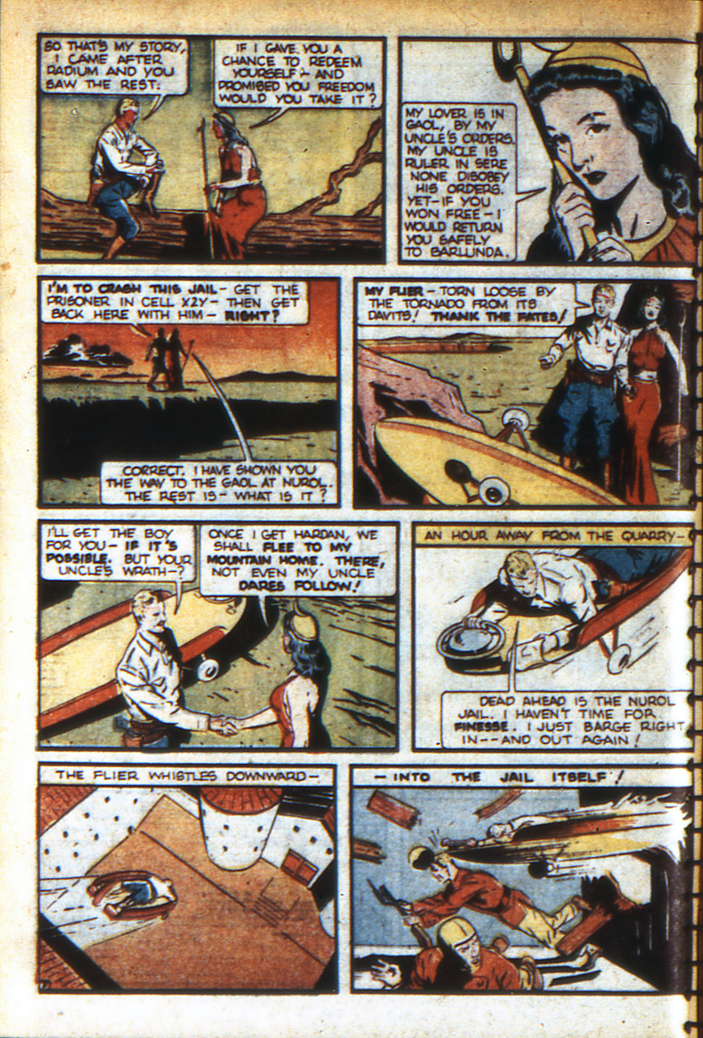 Read online Adventure Comics (1938) comic -  Issue #46 - 65