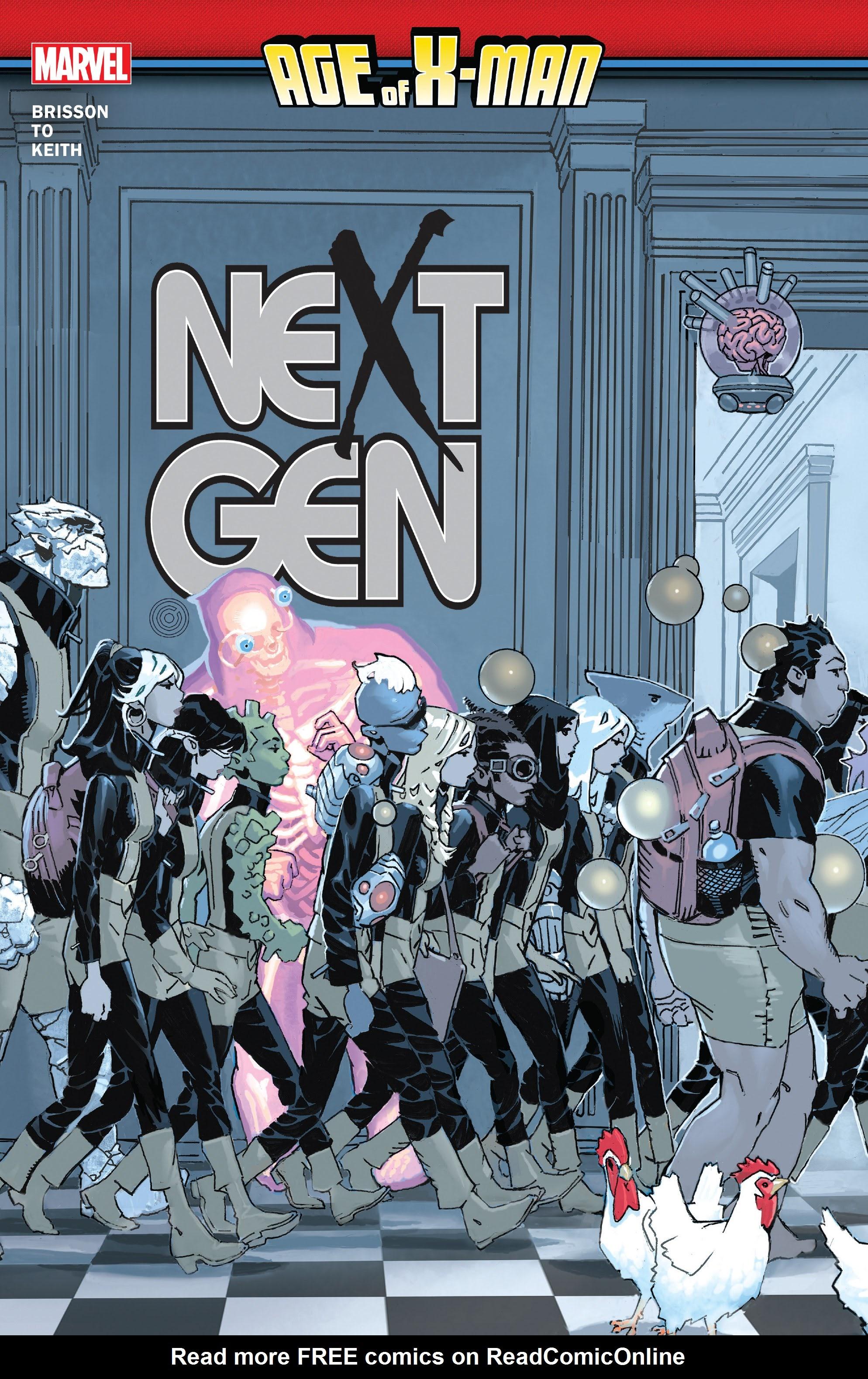 Age of X-Man: NextGen _TPB Page 1