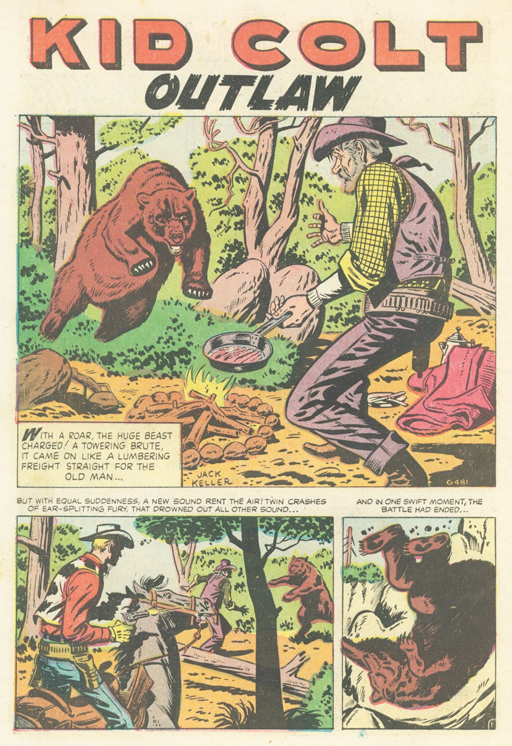 Kid Colt Outlaw issue 52 - Page 10