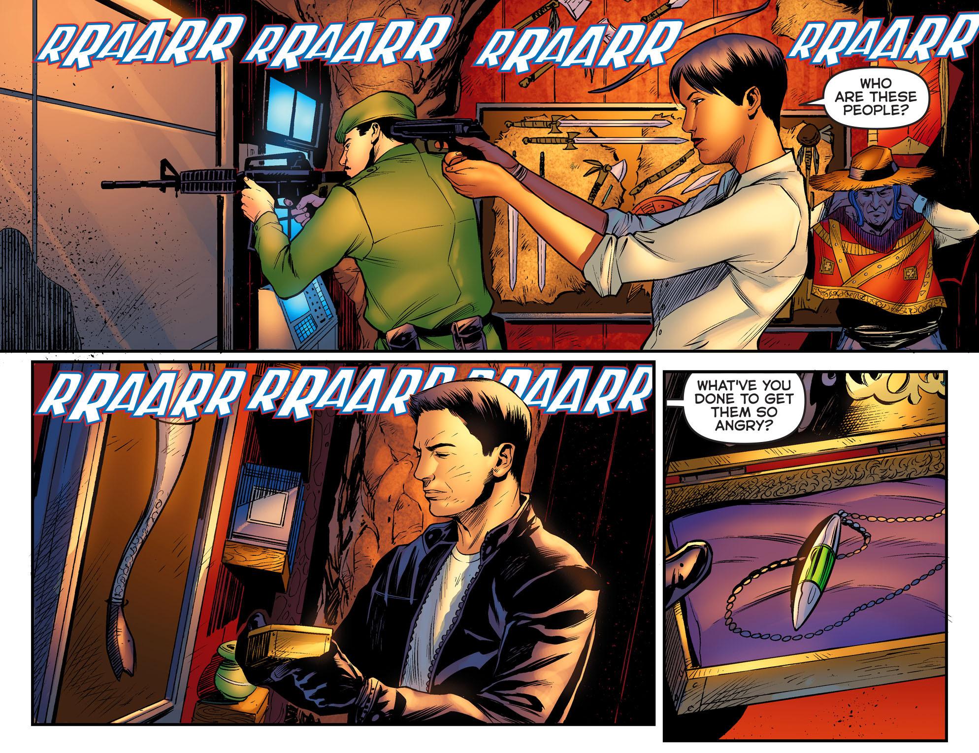 Read online Arrow: The Dark Archer comic -  Issue #2 - 17