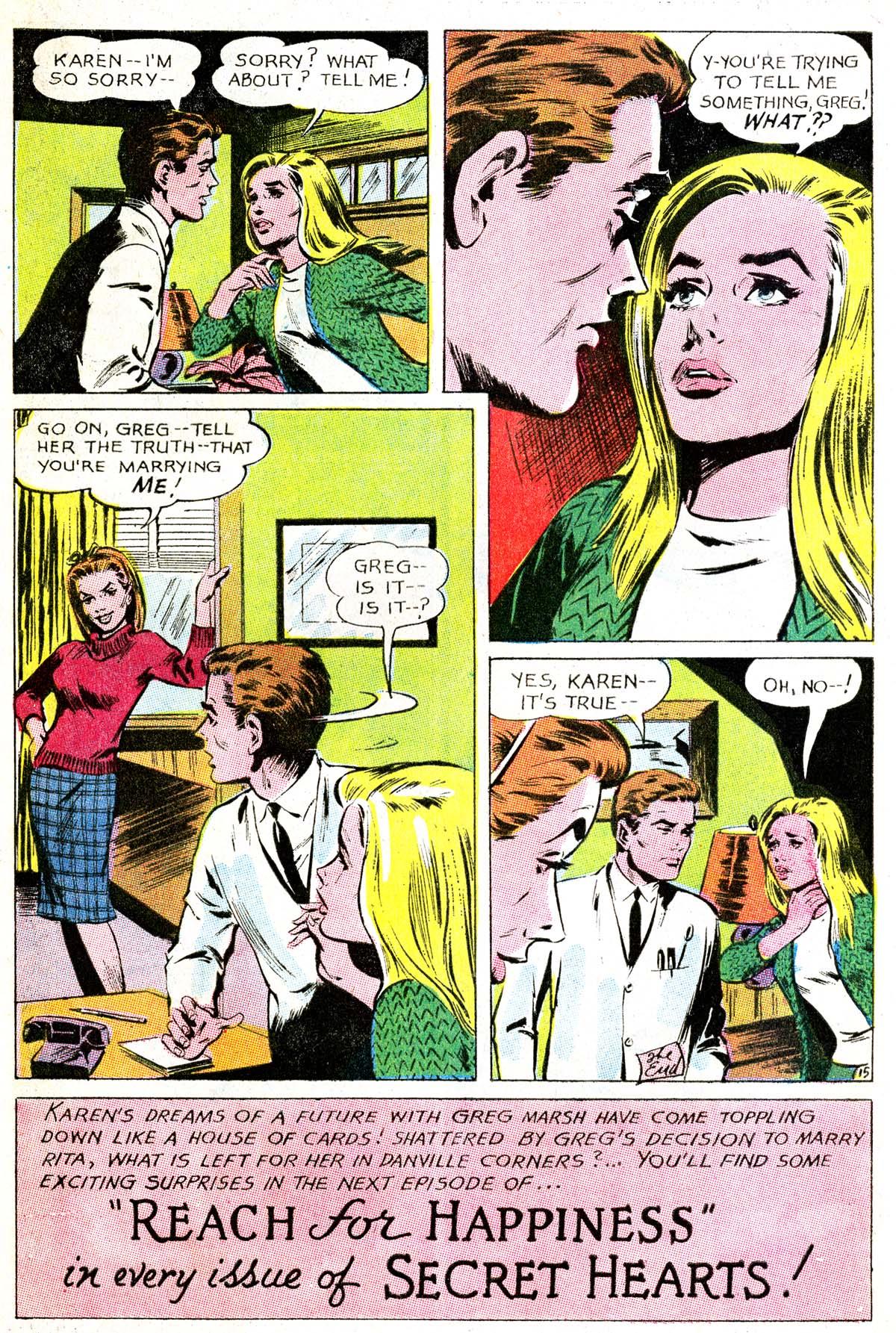 Read online Secret Hearts comic -  Issue #114 - 32