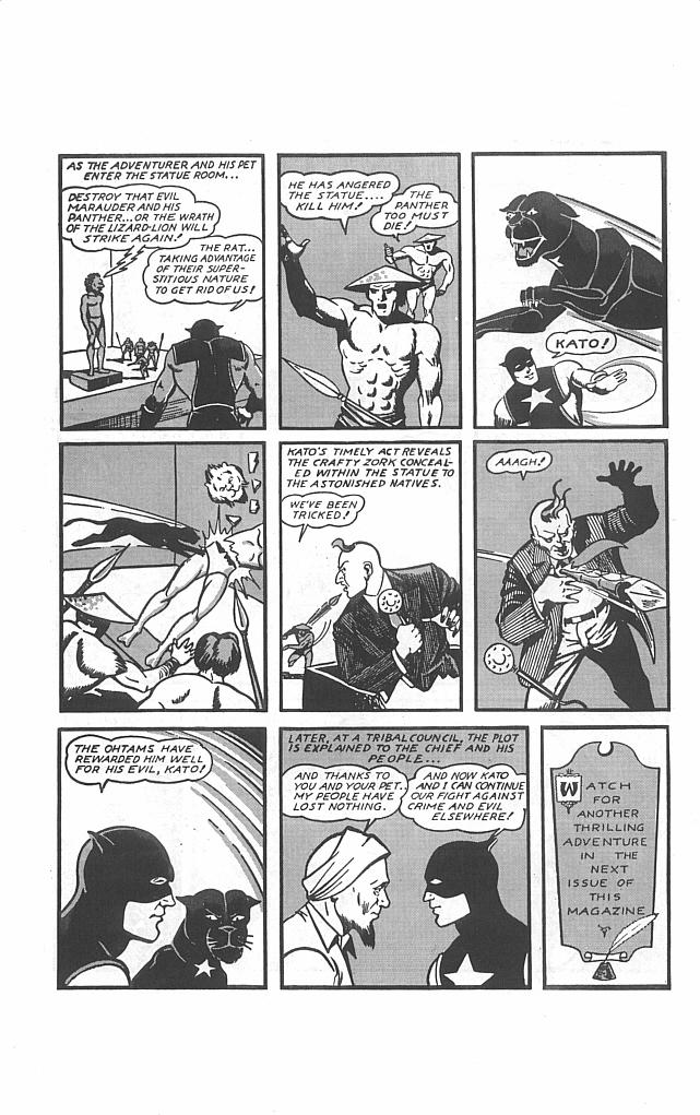 Read online Golden-Age Men of Mystery comic -  Issue #13 - 30