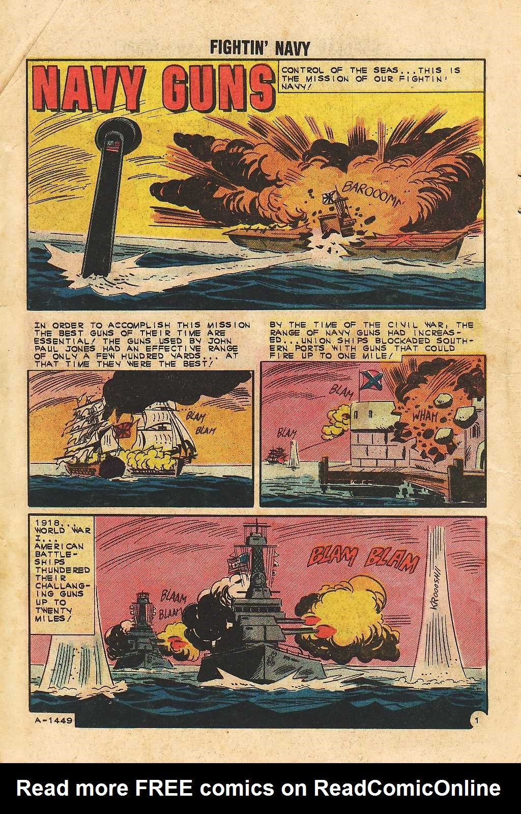 Read online Fightin' Navy comic -  Issue #105 - 12