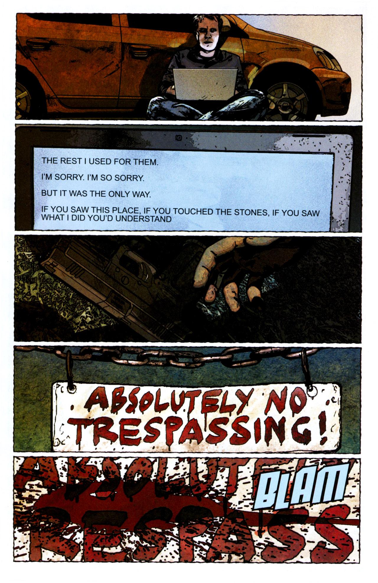 Read online Stephen King's N. comic -  Issue #4 - 22