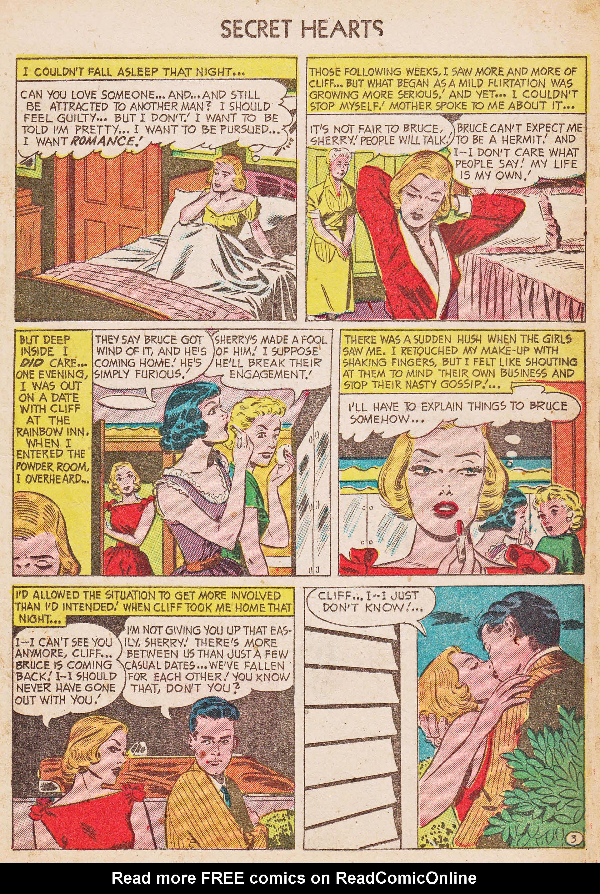 Read online Secret Hearts comic -  Issue #7 - 13