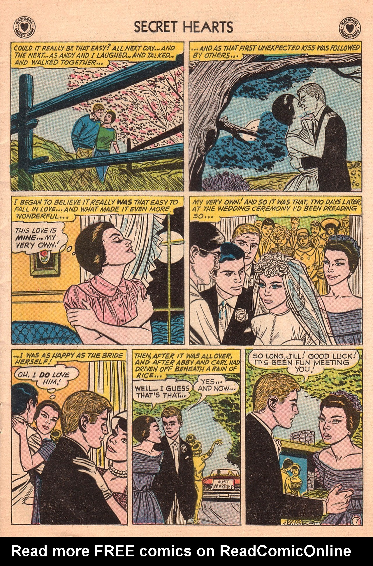 Read online Secret Hearts comic -  Issue #74 - 9