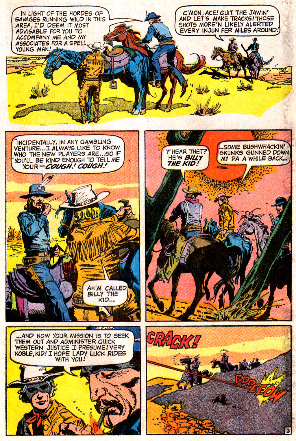 Read online All-Star Western (1970) comic -  Issue #7 - 5