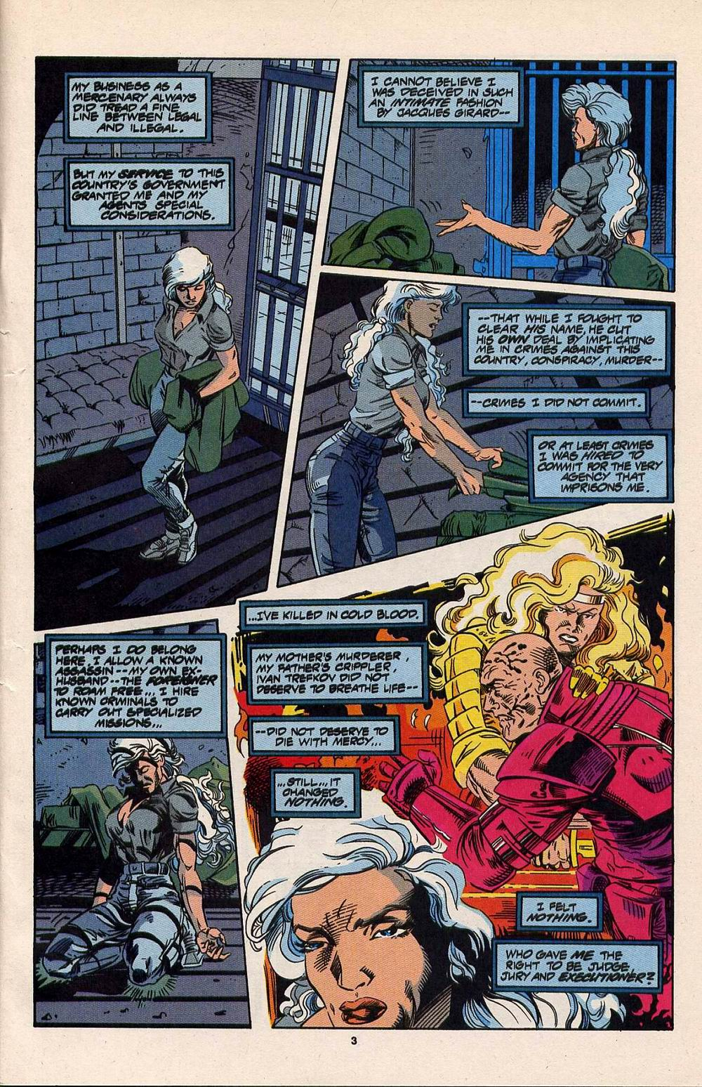 Read online Silver Sable and the Wild Pack comic -  Issue #30 - 4