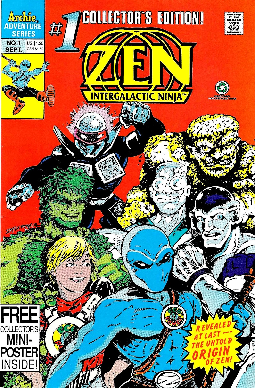 Read online Zen Intergalactic Ninja (1992) comic -  Issue #1 - 1