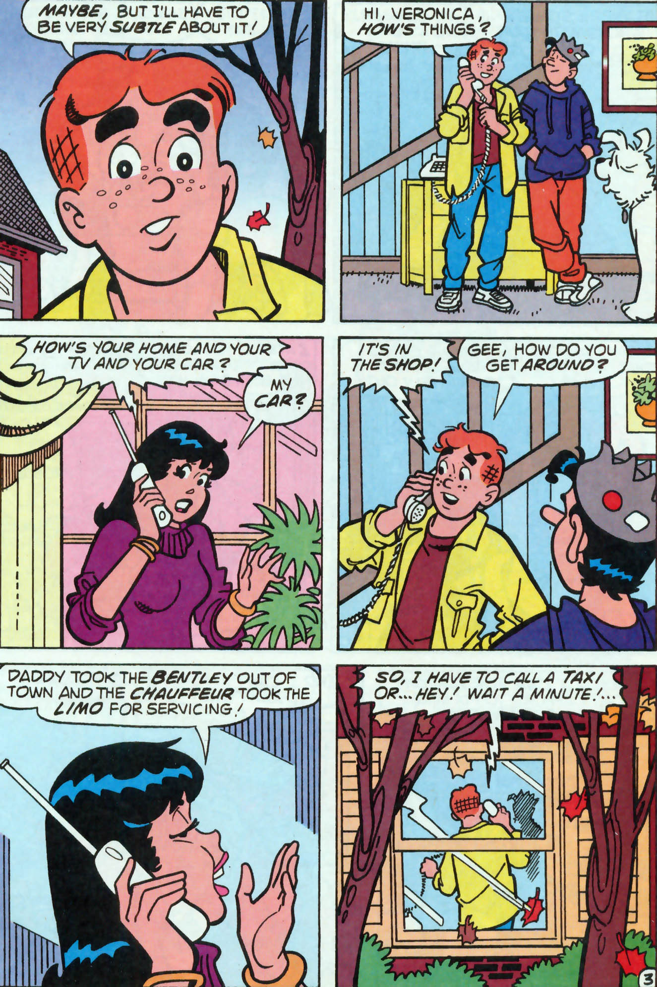 Read online Archie (1960) comic -  Issue #455 - 4