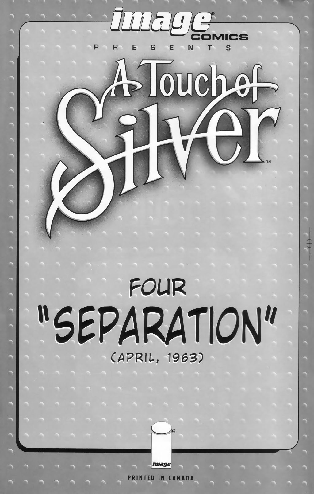 Read online A Touch of Silver comic -  Issue #4 - 2