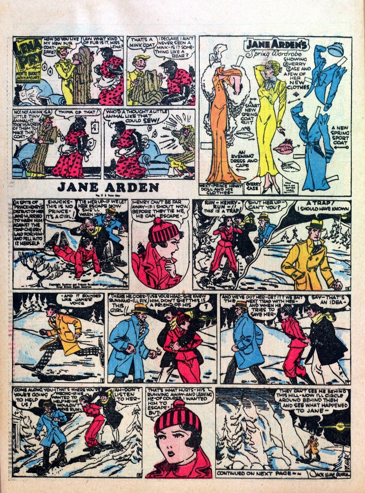 Read online Famous Funnies comic -  Issue #10 - 44