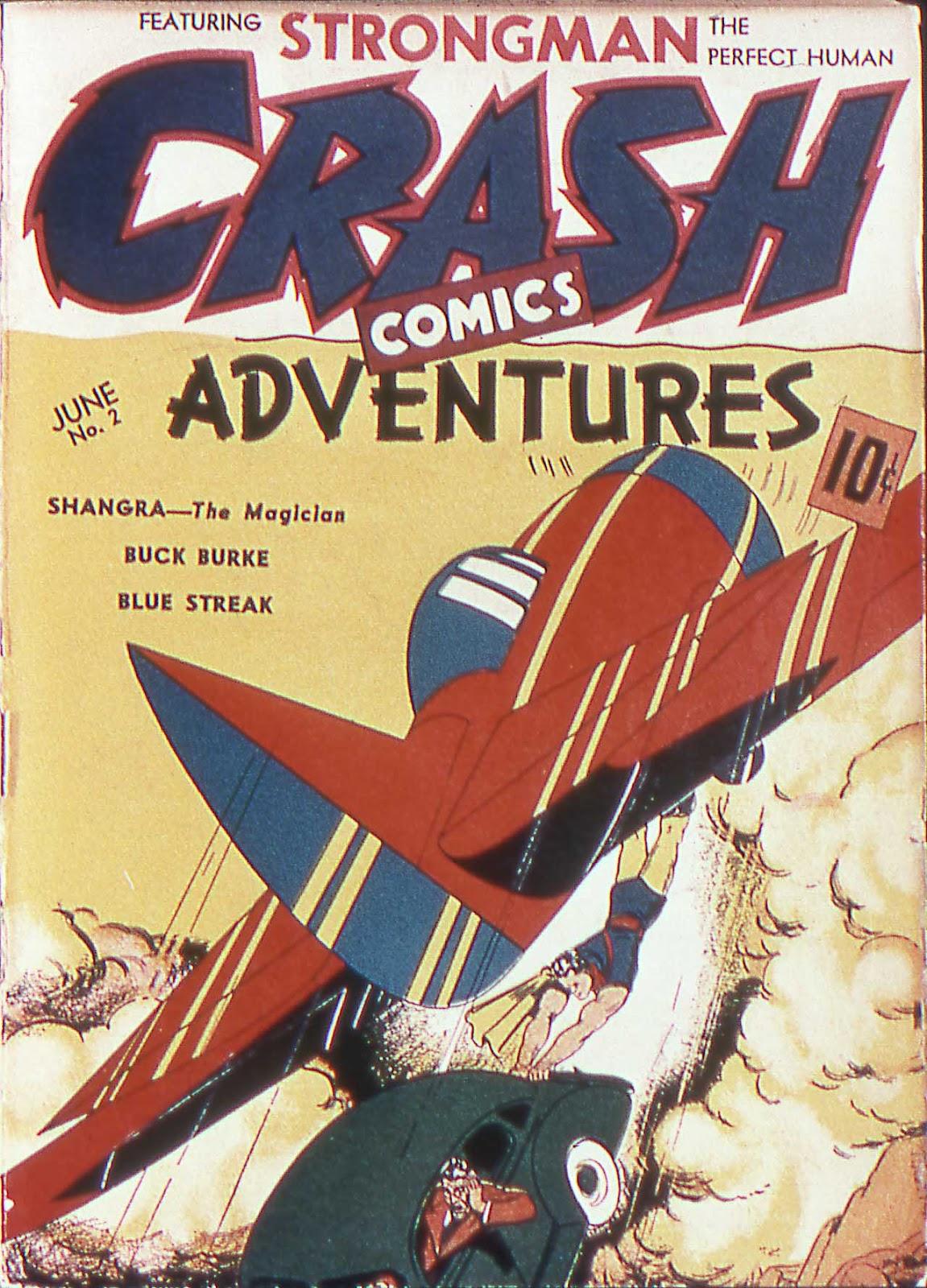 Crash Comics Adventures issue 2 - Page 1