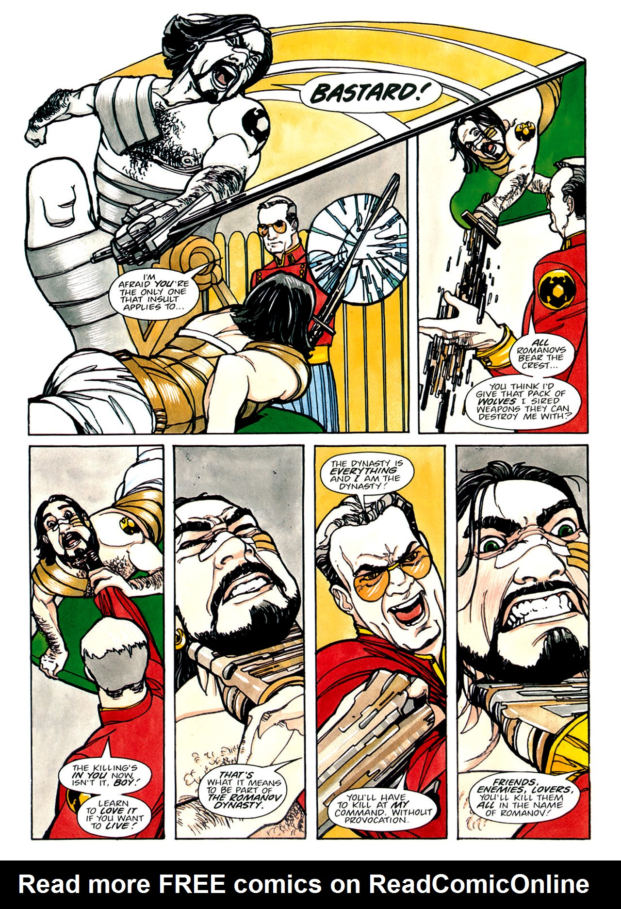 Read online Nikolai Dante comic -  Issue # TPB 1 - 91