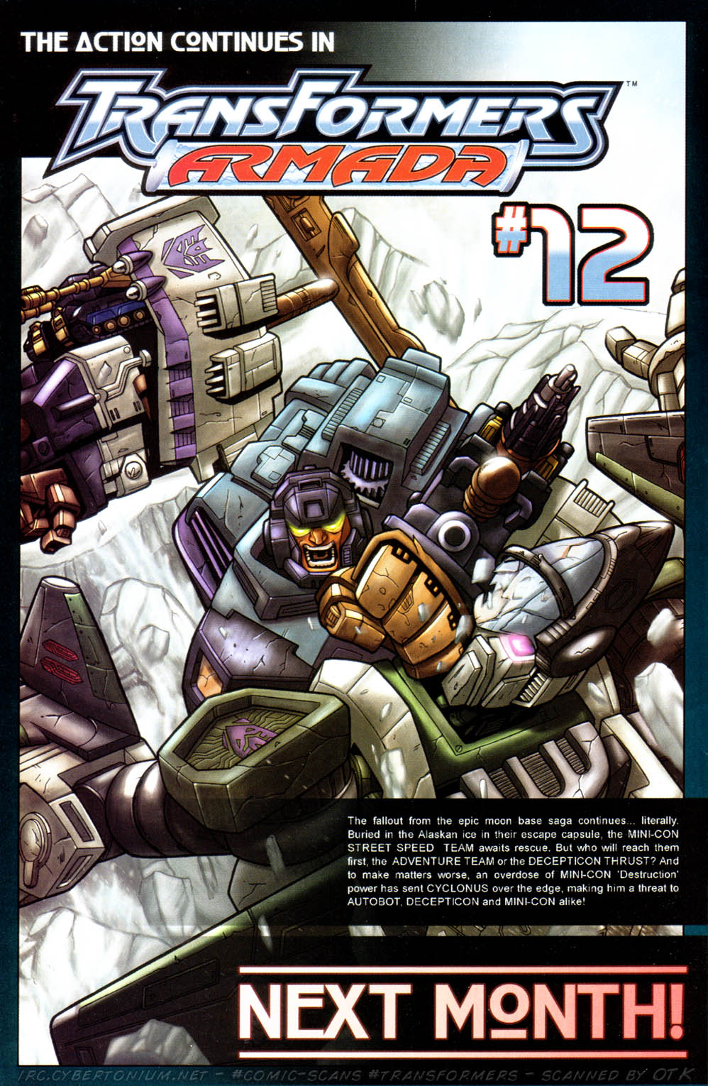Read online Transformers Armada comic -  Issue #11 - 26
