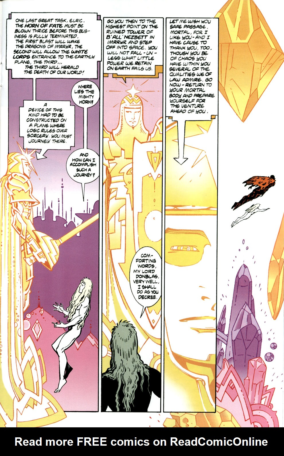 Read online Elric: Stormbringer comic -  Issue #6 - 11