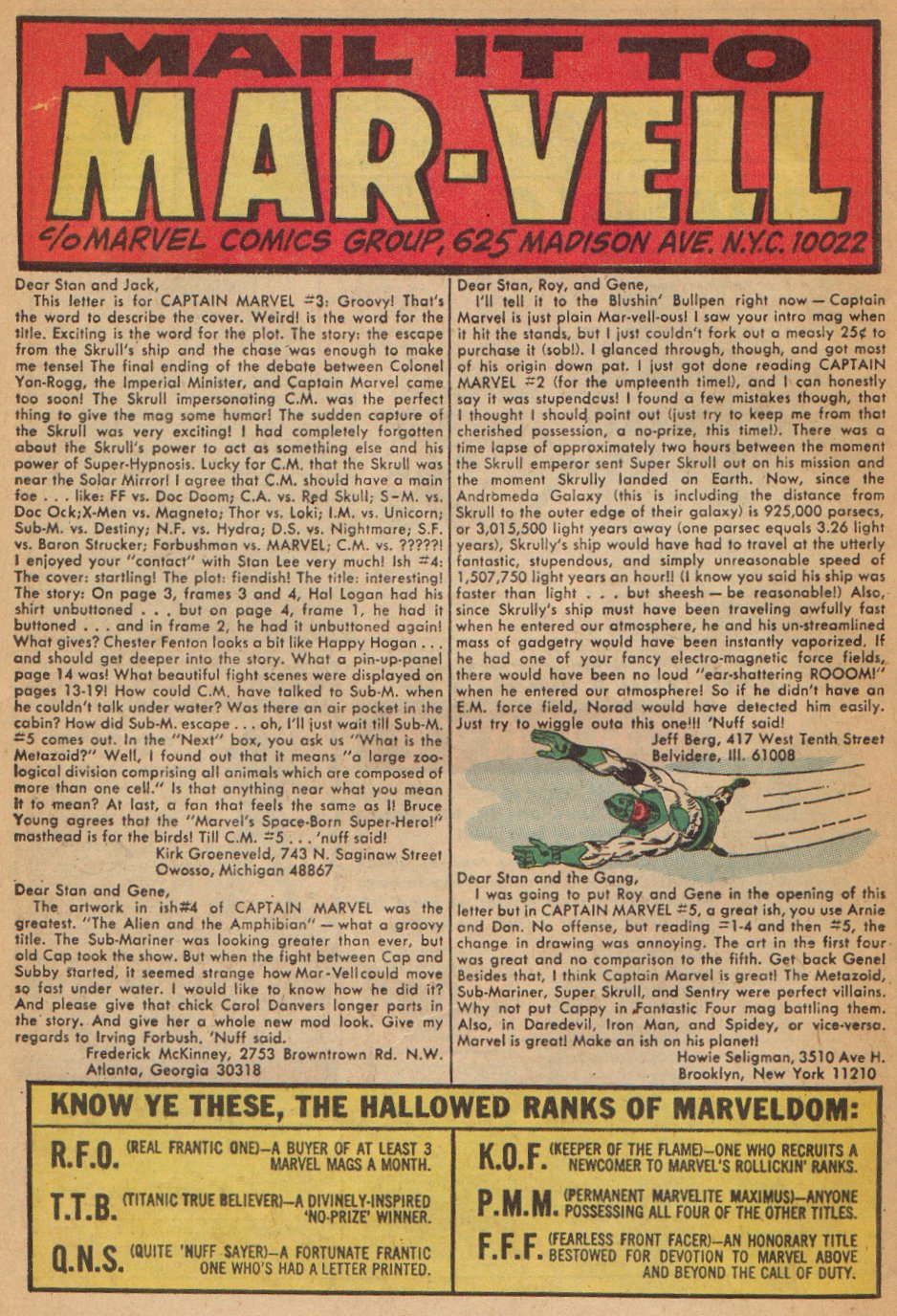 Captain Marvel (1968) Issue #7 #7 - English 23