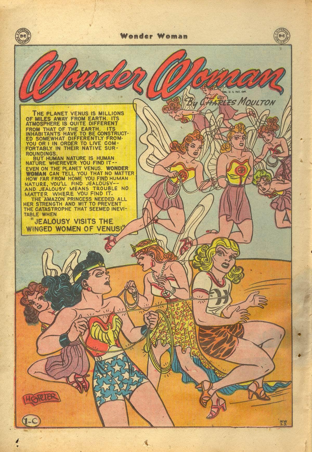 Read online Wonder Woman (1942) comic -  Issue #22 - 38
