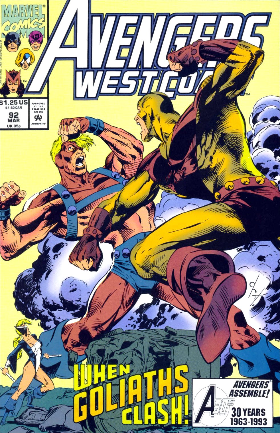 Avengers West Coast (1989) 92 Page 1