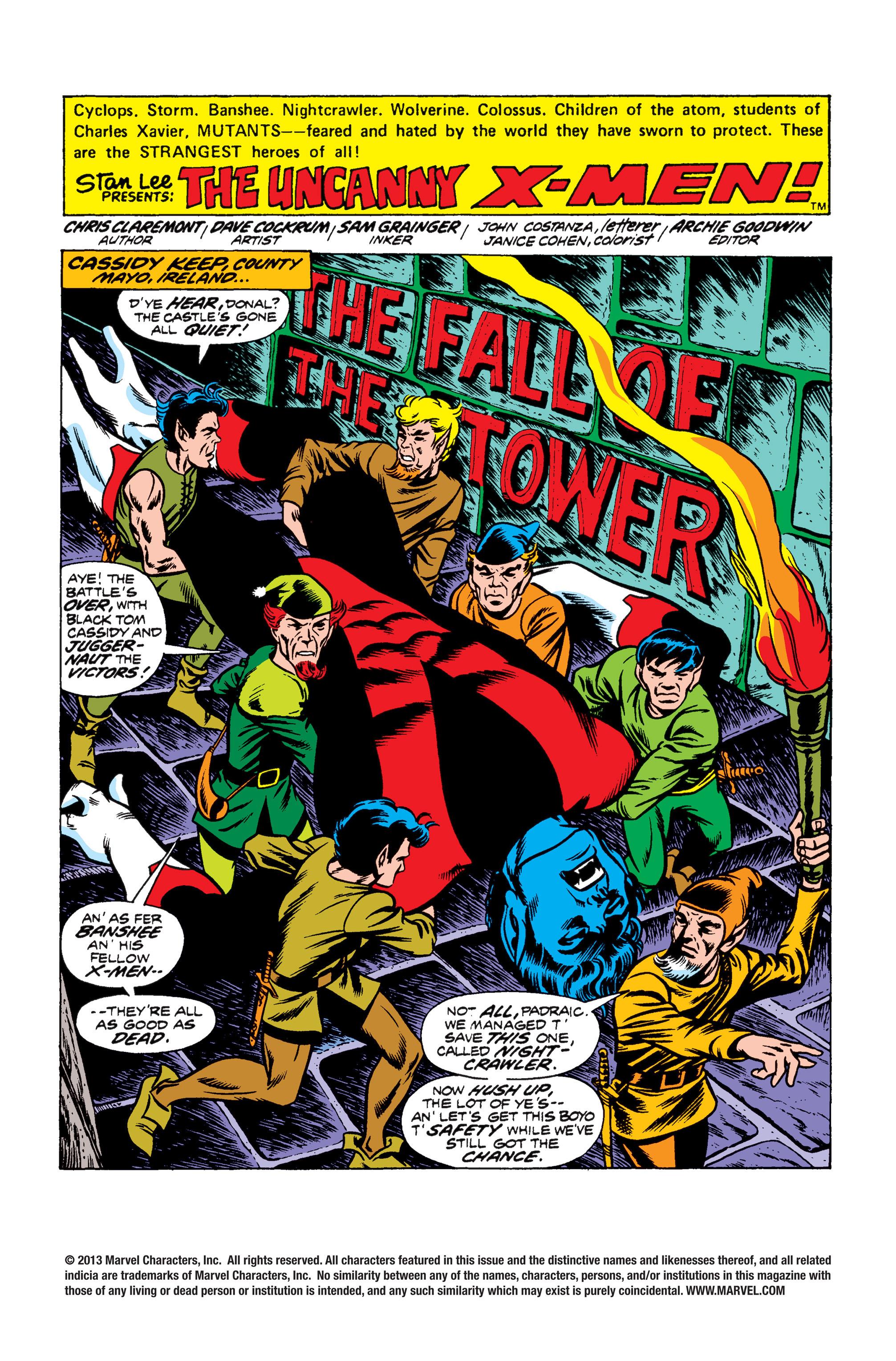 Uncanny X-Men (1963) 103 Page 1