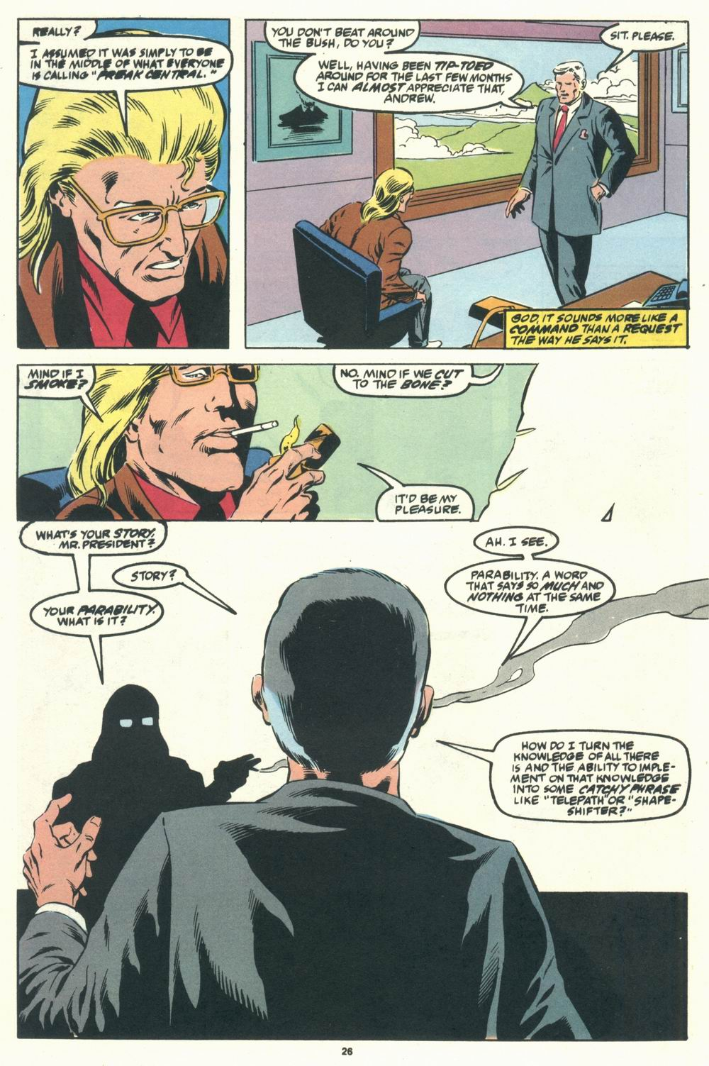 Read online Justice (1986) comic -  Issue #31 - 28