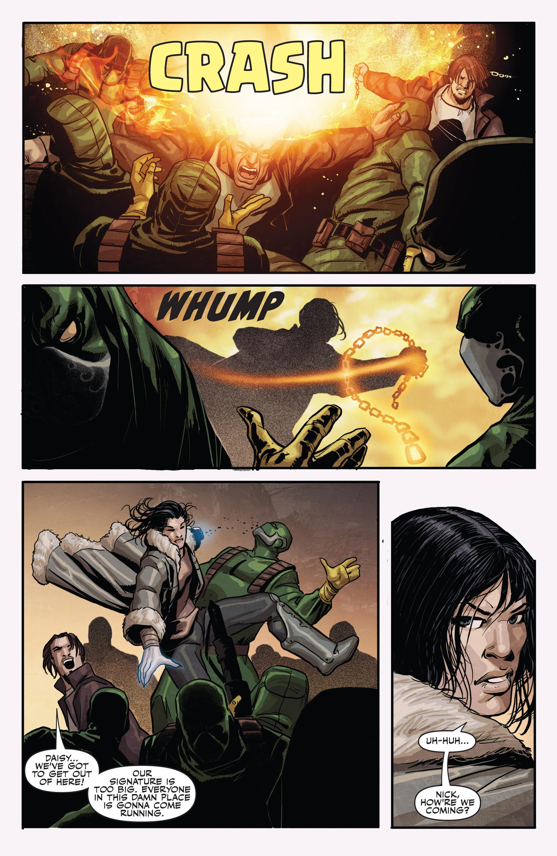 Read online Secret Warriors comic -  Issue #20 - 21
