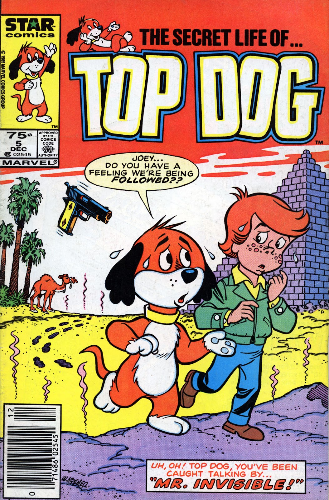 Top Dog 5 Page 1