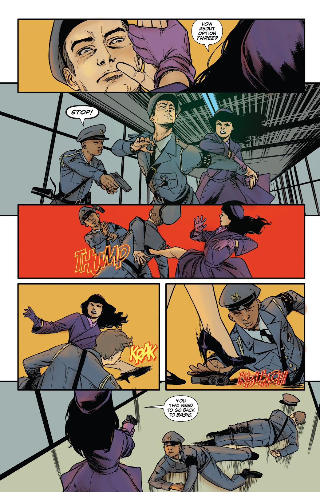 Read online Bettie Page: Unbound comic -  Issue #6 - 21