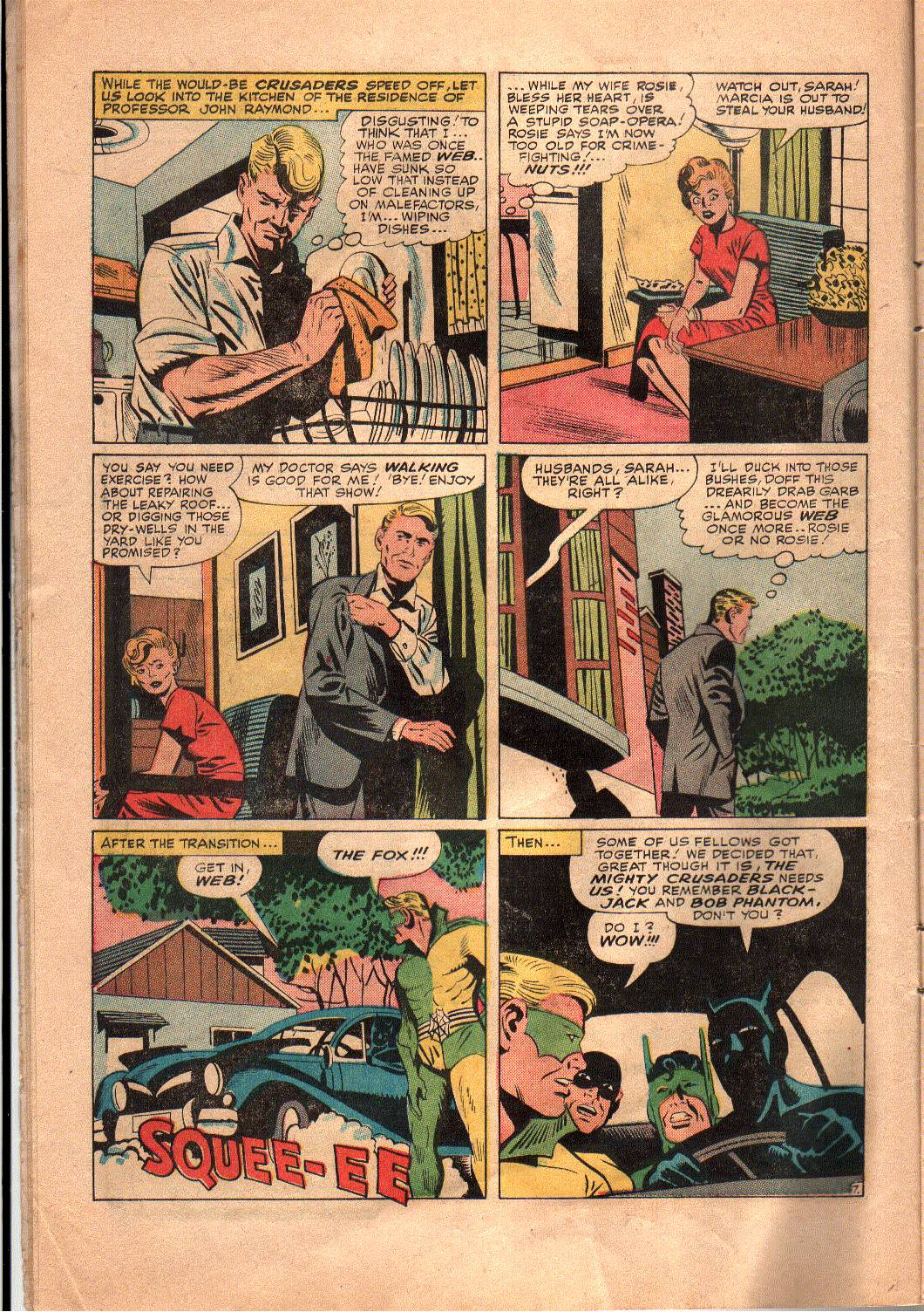 The Mighty Crusaders (1965) Issue #4 #4 - English 8