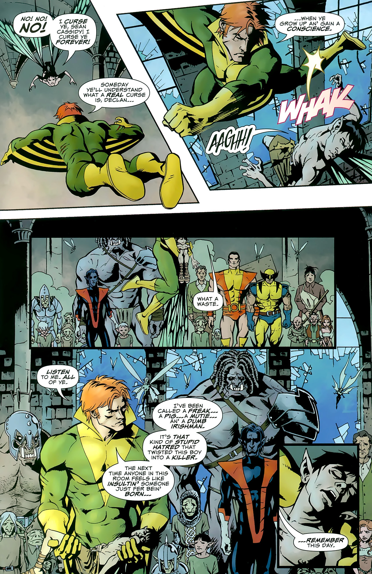 Read online Uncanny X-Men: First Class comic -  Issue #8 - 21
