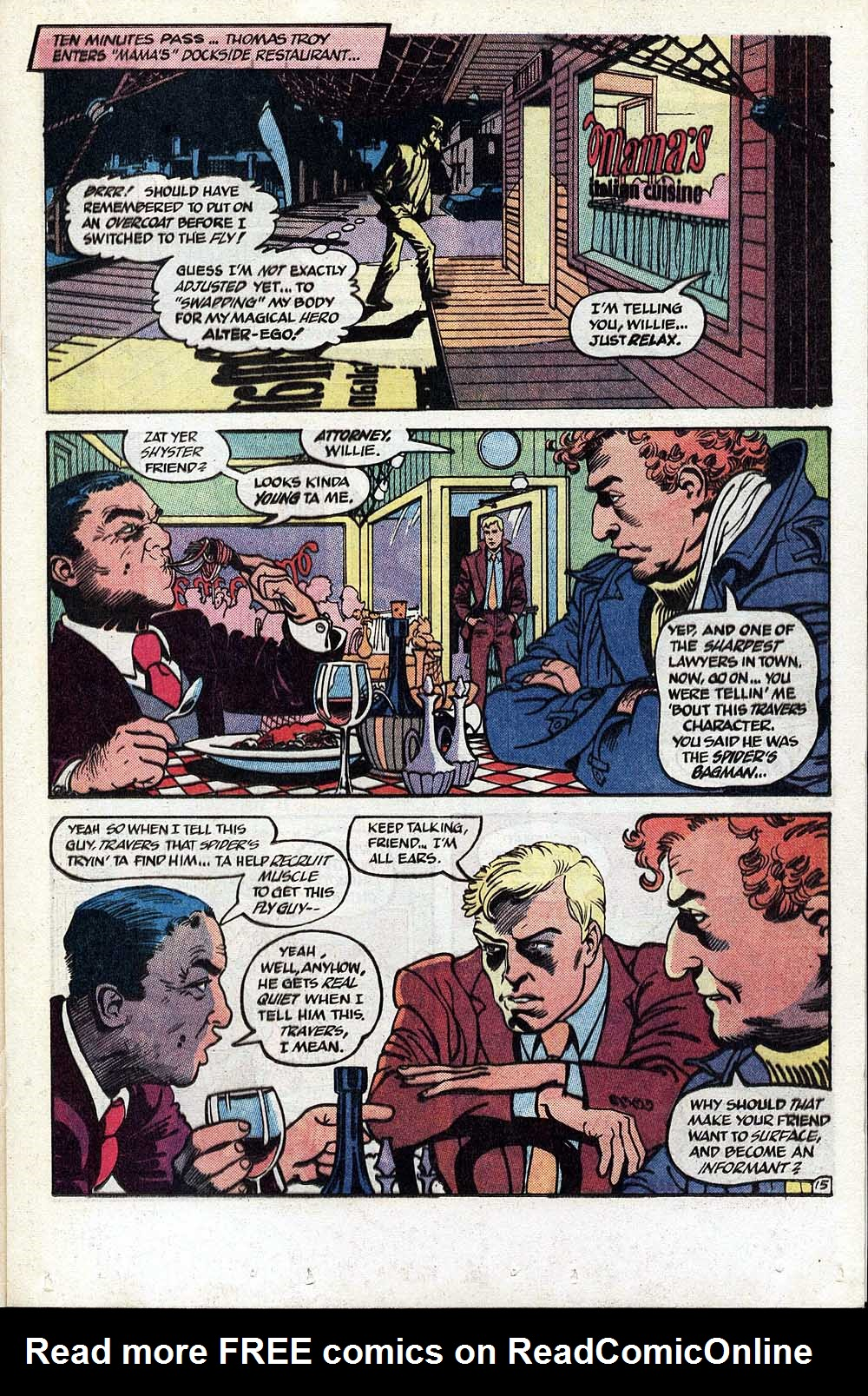 Read online The Fly (1983) comic -  Issue #1 - 16