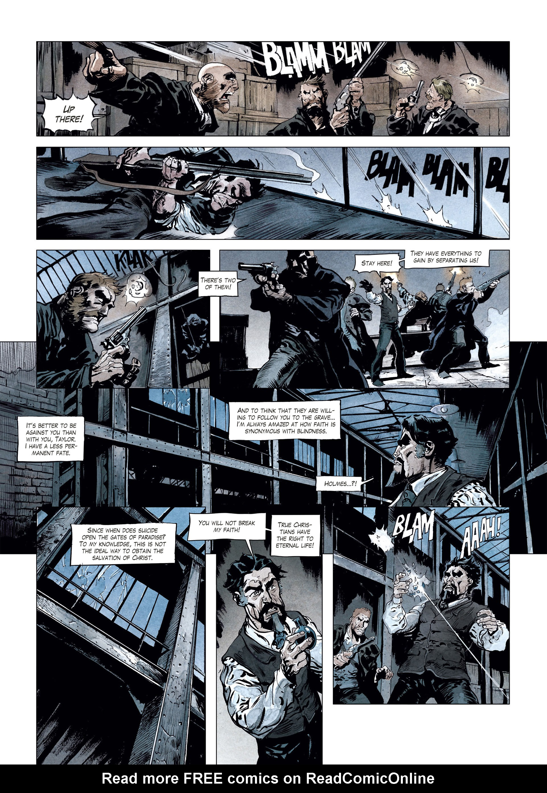 Read online Sherlock Holmes Society Tome 4 : Contamination comic -  Issue # Full - 40