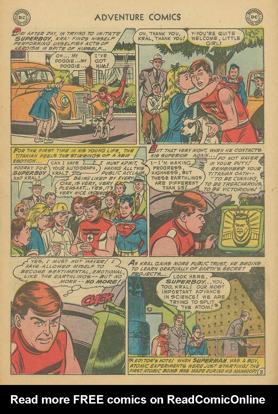 Read online Adventure Comics (1938) comic -  Issue #205 - 11