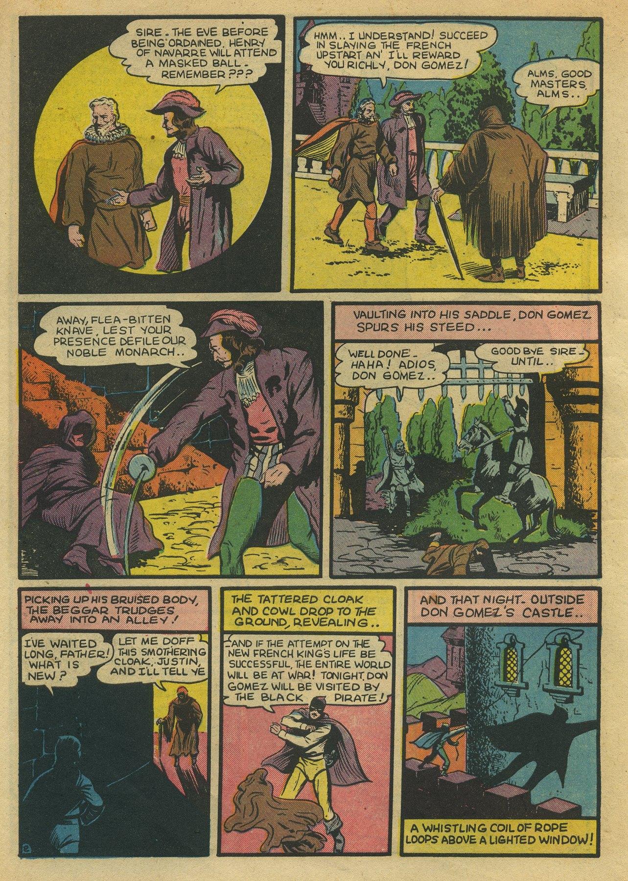 Read online Sensation (Mystery) Comics comic -  Issue #10 - 18