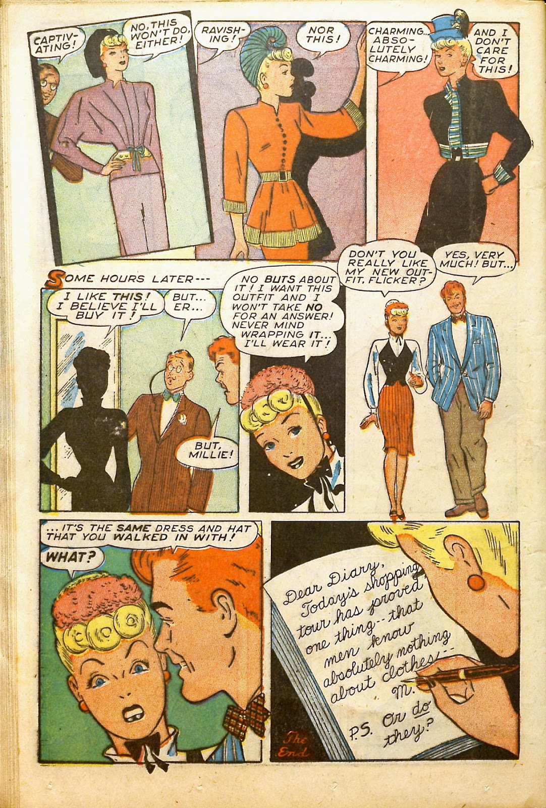 Read online Millie the Model comic -  Issue #2 - 32