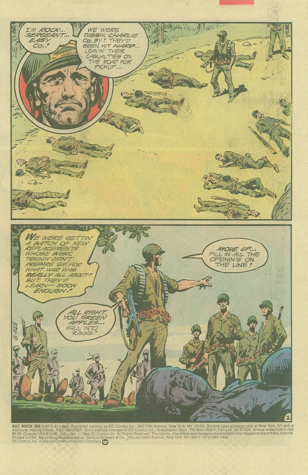 Sgt. Rock issue 389 - Page 2