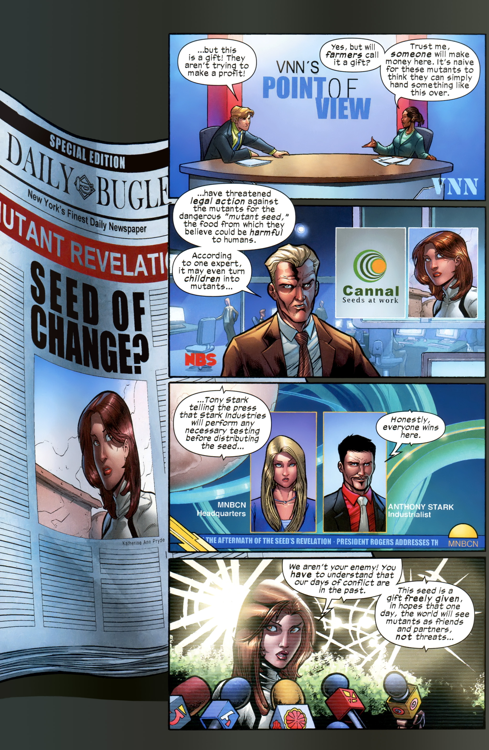 Read online Ultimate Comics X-Men comic -  Issue #21 - 7