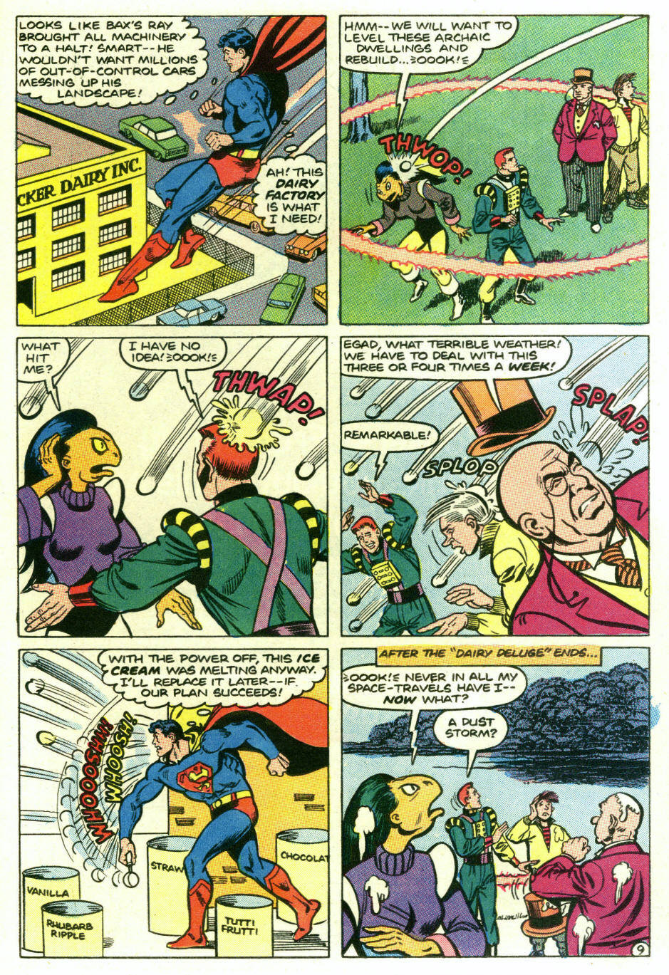 Read online Action Comics (1938) comic -  Issue #573 - 11