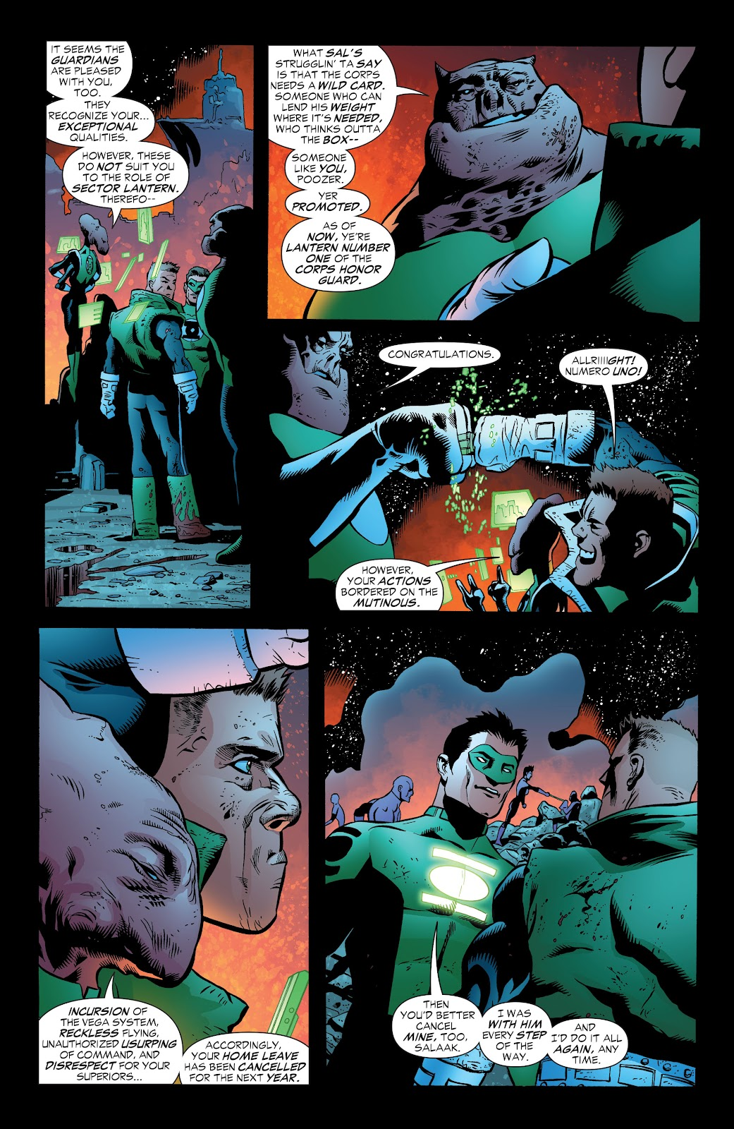Read online Green Lantern by Geoff Johns comic -  Issue # TPB 1 (Part 3) - 92