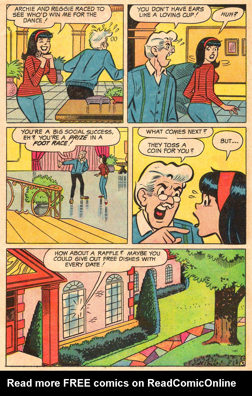 Read online Archie's Girls Betty and Veronica comic -  Issue #154 - 15