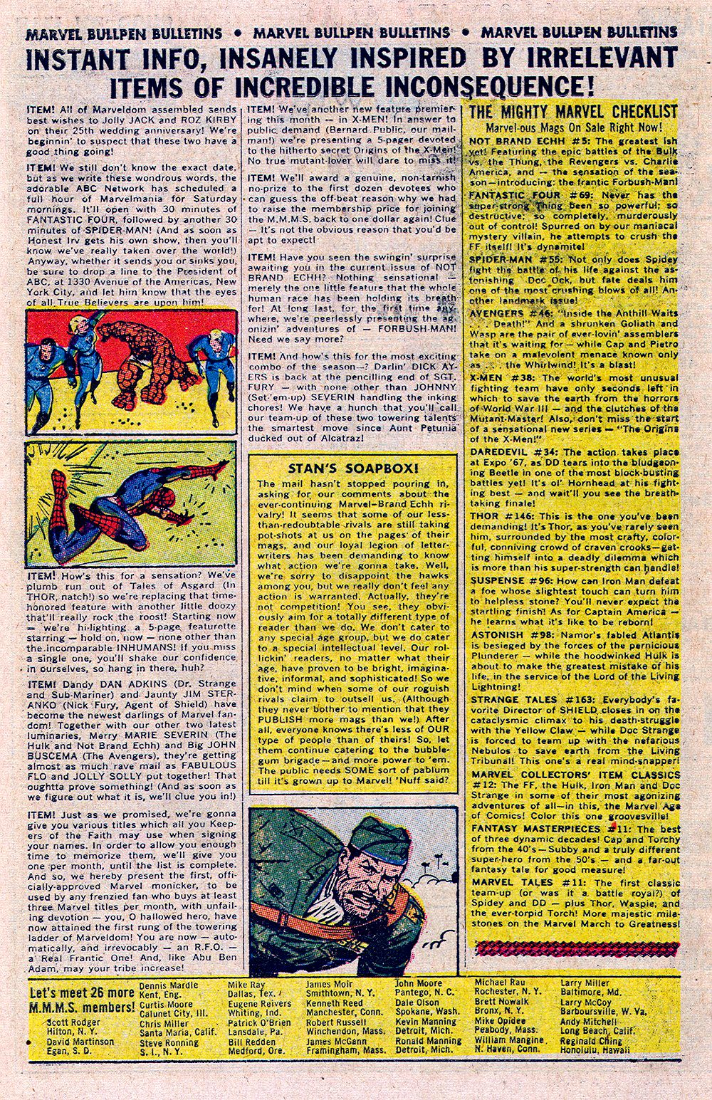 Read online Sgt. Fury comic -  Issue #48 - 29