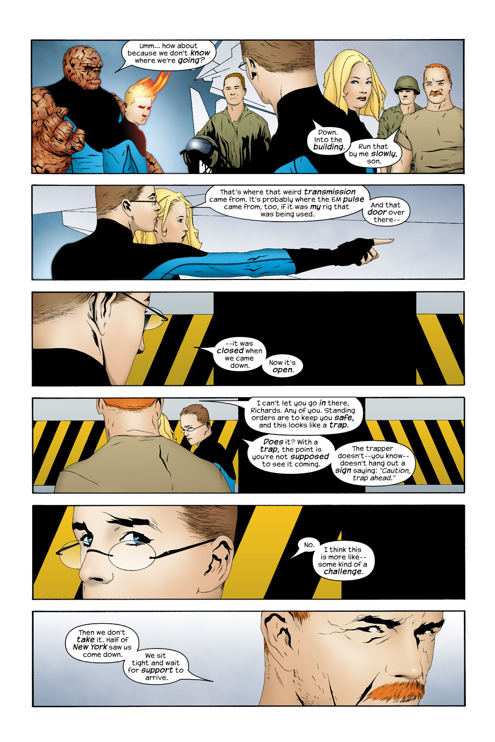 Read online Ultimate Fantastic Four (2004) comic -  Issue #19 - 11